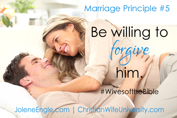 Marriage Principle #5 from the Wives of the Bible by Jolene Engle