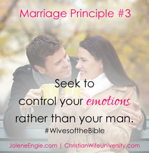 Marriage Principle #3- Wives of the Bible by Jolene Engle