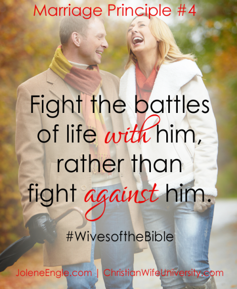 Marriage Principle #4- Wives of the Bible by Jolene Engle