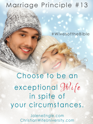 Marriage Principle #13 from the life of Hannah- Wives of the Bible by Jolene Engle