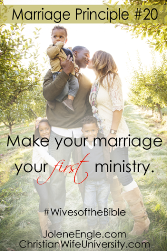 Marriage Lesson #20 from the life of Priscilla- Wives of the Bible by Jolene Engle