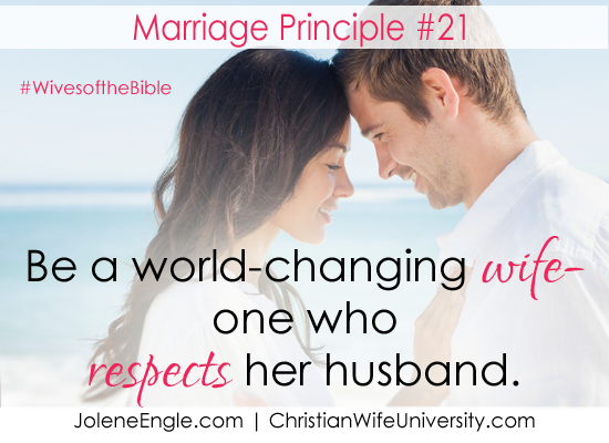 Marriage Lesson from Mary, The Respectful Wife- Wives of the Bible