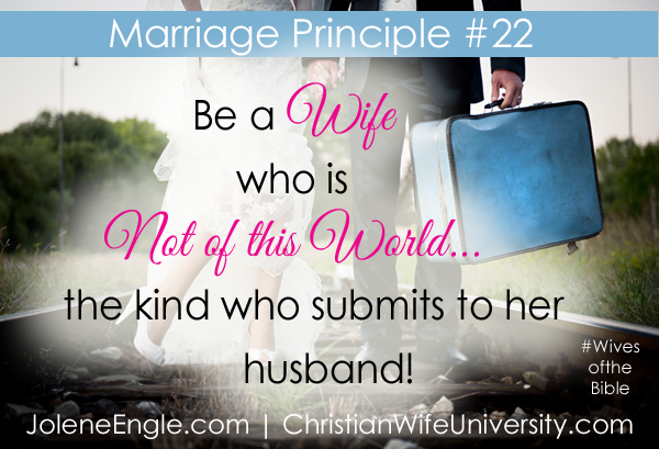 Marriage Lesson #22 from the Life of Elizabeth- Wives of the Bible