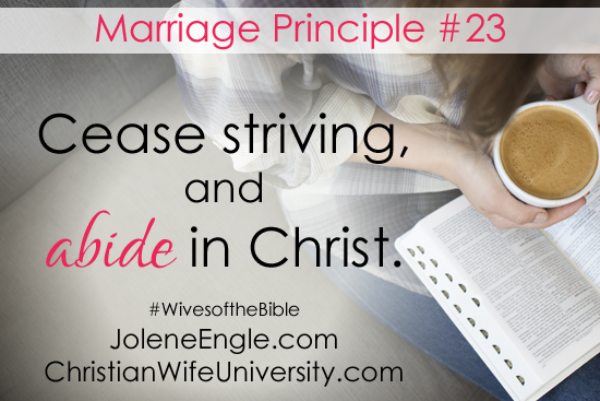 Marriage Lesson from the Proverbs 31 Wife- Wives of the Bible