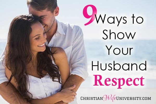 How Do You Show A Man Respect