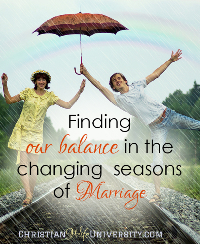 Finding Balance in the Changing Seasons of Marriage