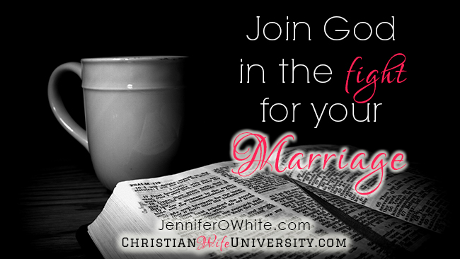 Join God in the Fight for Your Marriage