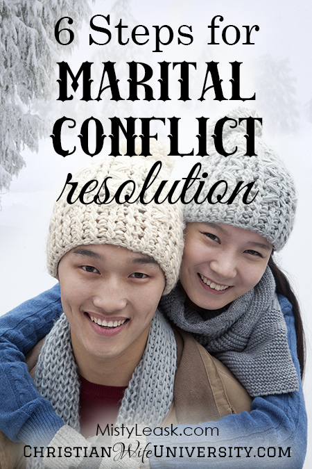 6 Steps for Marital Conflict Resolution