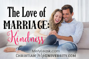 The Love of Marriage: Kindness