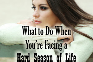 What to Do When You Feel Like You're Facing a Hard Season of Life Alone in Your Marriage