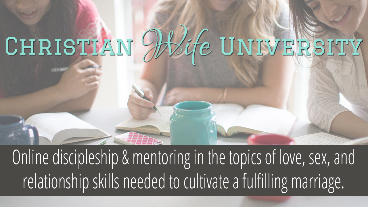 Christian Wife University Private Mentoring Program
